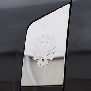 Skull Fuel Cap Flap Cover for VW T6 Transporter-0