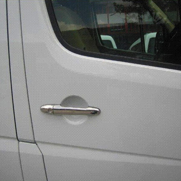 Door Handle Covers (4 Pcs) for Mercedes Sprinter Stainless Steel -0