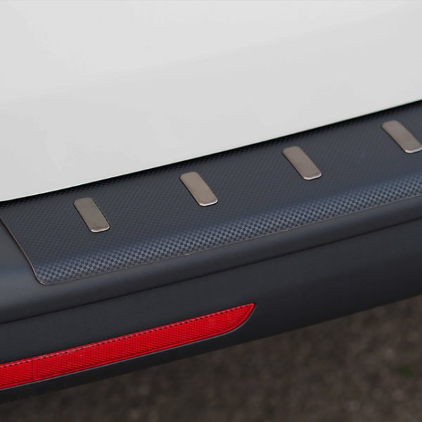 Rear Bumper Protector For VW T6 Barndoor ONLY Carbon Fibre Film
