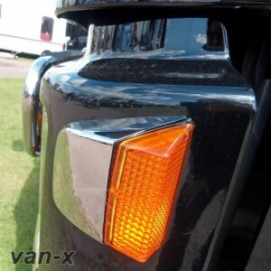Stainless Steel Side Indicator Covers For Volvo Fh
