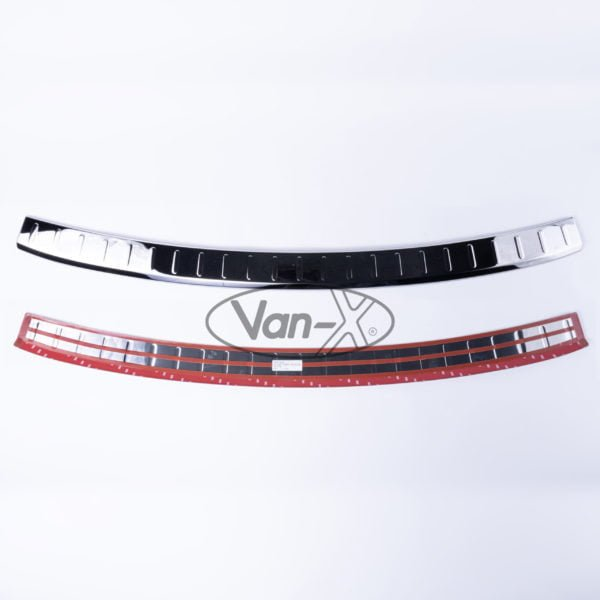 VAN-X VW Caddy Rear Bumper Protector Stainless Steel 0 - CD-229