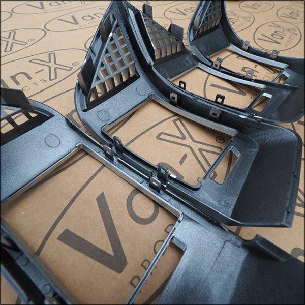 Dashboard Air Vent (SILVER CARBON) for Fiat Ducato, Peugeot Boxer & Citroen Relay-7093