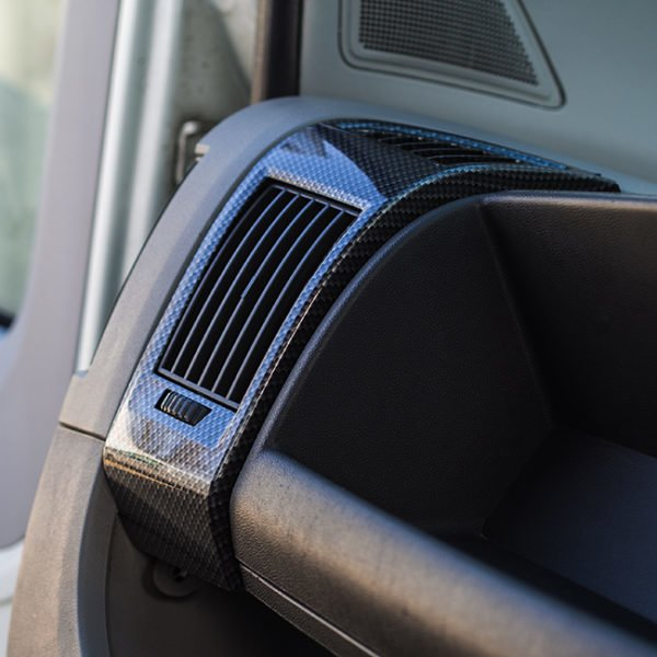 Dashboard Air Vent (DARK CARBON) for Fiat Ducato, Peugeot Boxer & Citroen Relay-0