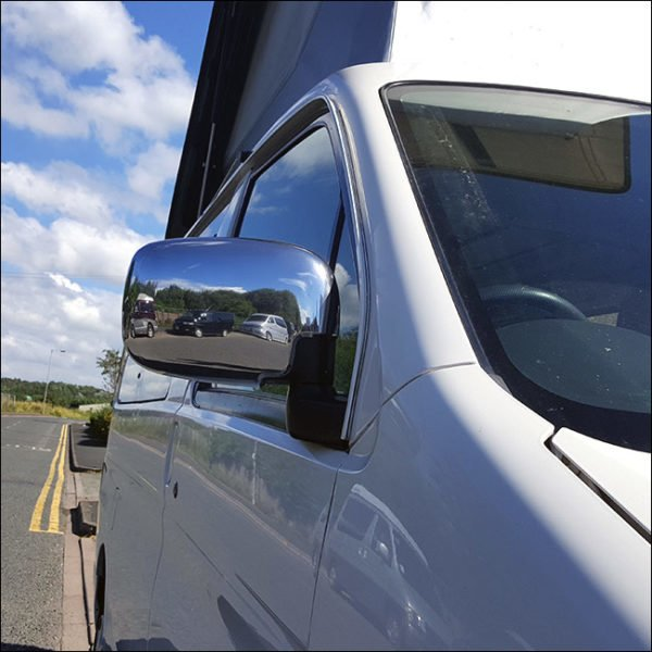 ABS Chrome Mirror Covers for Mazda Bongo (The ideal present!)-20353