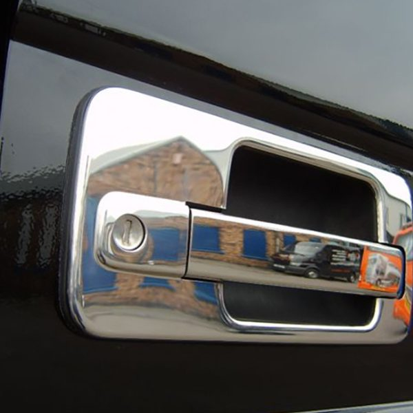 Stainless Steel Door Handle Covers for Mercedes Actros-19567