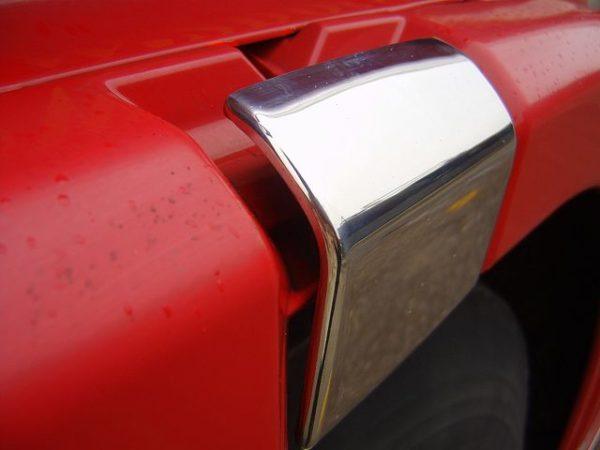 Stainless Steel Door Latch Trims Scania R & 4 Series