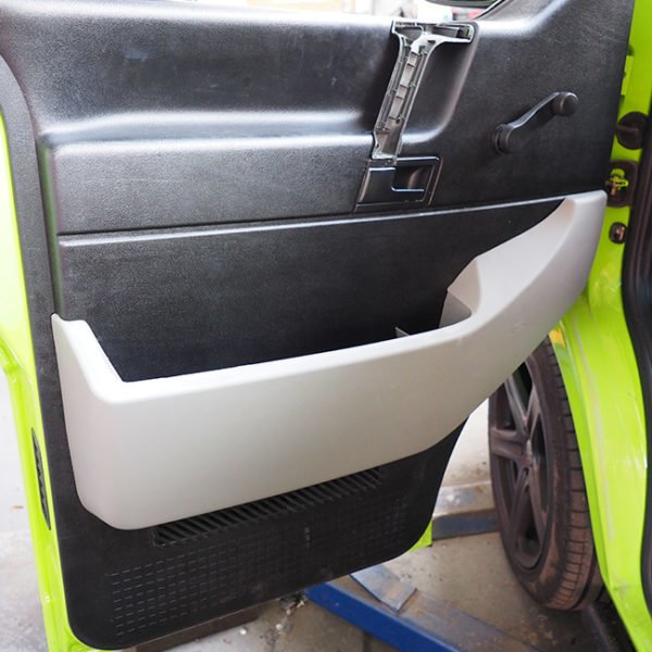 Passenger Side Pocket For VW T4 ABS Grey-0