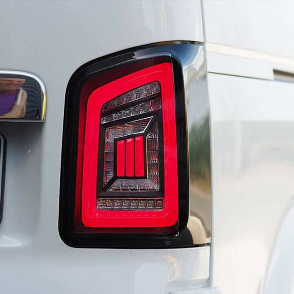 LED Rear Lights for VW T5 & T5.1 Transporter BARNDOOR NEW LIVE indicator rear lights (Audi style)-8847