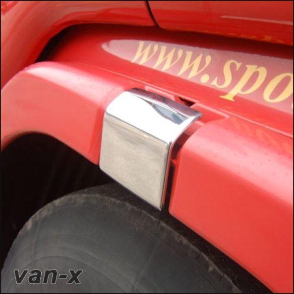 Stainless Steel Door Latch Trims Scania R & 4 Series-3481