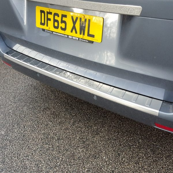 Mercedes Vito 2015+ Rear Bumper Protector Stainless Steel